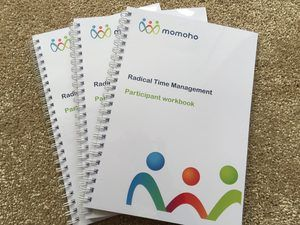 Radical Time Management workbooks